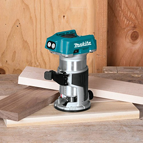 Makita XTR01Z 18V LXT Lithium-Ion Brushless Cordless Compact Router by Makita (Image #2)