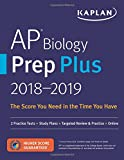 img - for AP Biology Prep Plus 2018-2019: 2 Practice Tests + Study Plans + Targeted Review & Practice + Online (Kaplan Test Prep) book / textbook / text book