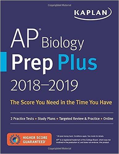Amazon ap biology prep plus 2018 2019 2 practice tests study ap biology prep plus 2018 2019 2 practice tests study plans targeted review practice online kaplan test prep fandeluxe Choice Image
