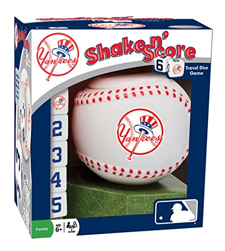 fan products of MLB New York Yankees Shake 'n Score Dice Game