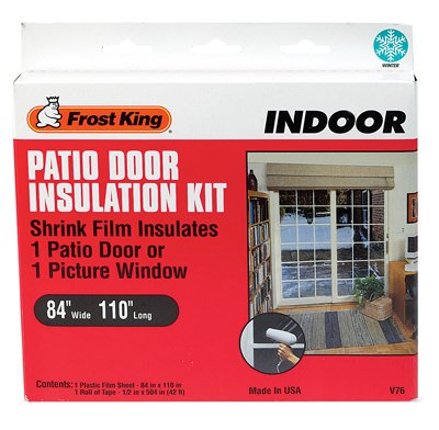 Thermwell V76H Insulation Kit or Kitchen for Patio Door or Large Window, 84 x 110-In.