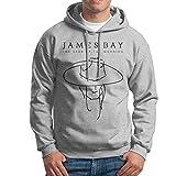 Bekey Men's James Bay Pullover Hoodie Jersey XL Ash