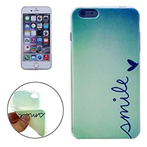 SMILE Pattern TPU Protective Case for iPhone 6 Plus