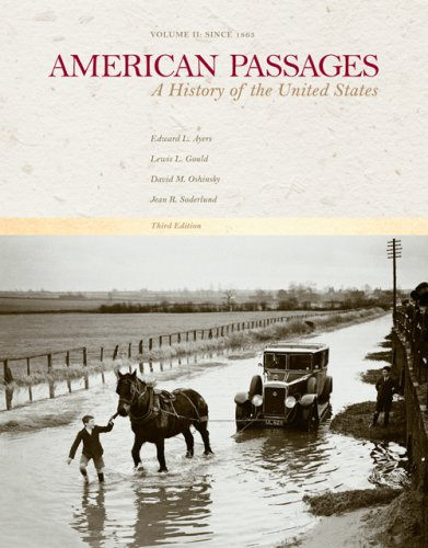 Download American Passages: A History of the United States, Vol. II: Since 1863 pdf epub