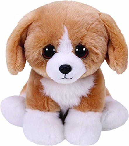 (Ty Beanie Babies FRANKLIN - Brown Dog Reg 6