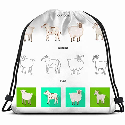 Used, Design Breeding Kitchen Icon Set Animals Wildlife Agriculture for sale  Delivered anywhere in USA