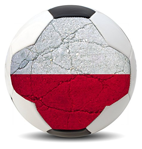 occer balls for International COPA World Cup Euro League and America Fans (USA, Brazil, Mexico, Spain, Germany, France and more) (Poland) (Usa Brazil World Cup)