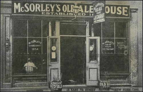 McSorley's Old Ale House : New York City : Circa 1940 Art Print ()