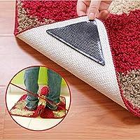 Elegantyuyu 1PCS, 8 Pcs/Lot Silicone Mat Grippers Non Slip Grip Corners Pad Reusable Washable Mats