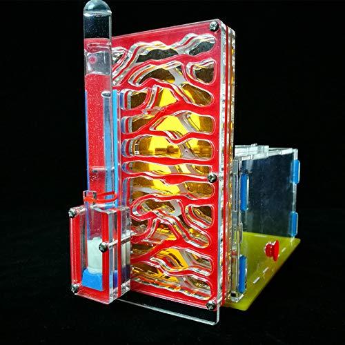 Rond Yuan DIY Jouet Ant Nest R1Coin Repas Ant Farm en Acrylique Insectes Cages Villa pour Animal Domestique Mania Maison Fourmis Insectes Villa Maison Jouet ROUND YUAN