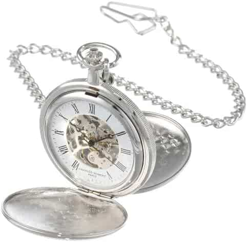 Charles-Hubert, Paris Mechanical Pocket Watch