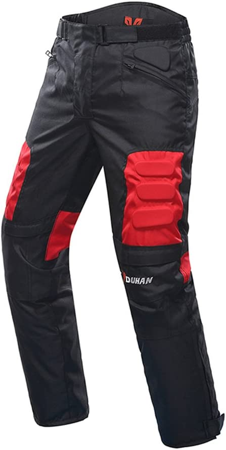 Motorcycle Pants Mens Riding Moto Pants Trousers Racing Pantalon Windproof Motobike Pants with Knee Pads Guards