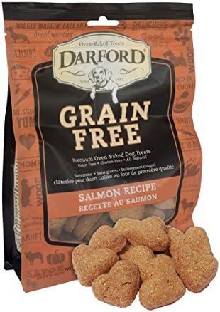 Grain Free Salmon Recipe Dog Treats, 12oz