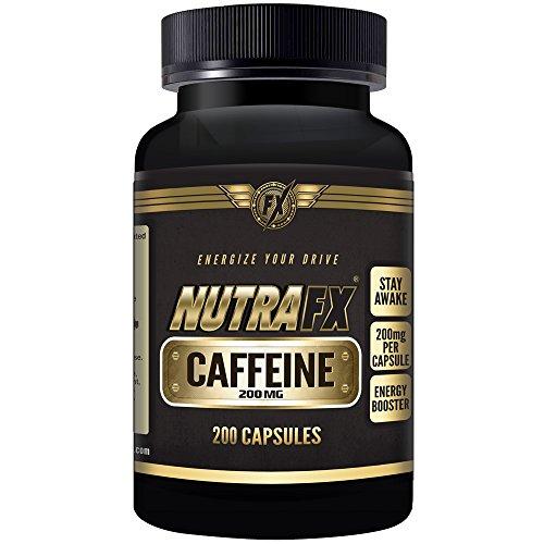 Nutrafx caféine 200 Mg (anhydre)