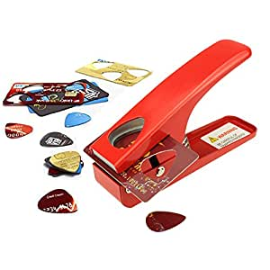 Zuanjia Pick maker Tool DIY Guitar Pick - The Pick Cutter that Punches Picks Perfectly Every Time. A Great Guitar Gift, a Guitar player Not to be Missed