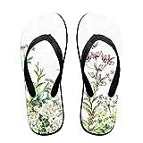 Flip Flops Wild Flowers Women's Summer Slippers Top Sandals For Boys