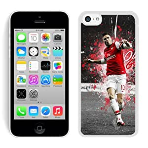 Fashionable Olivier Giroud 6 White Cell Phone Case for iPhone 5c Generation