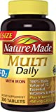 Nature Made Multi Daily Vitamin With Iron and Calcium, Value...