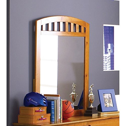 Cambridge Dresser Mirror in Honey Oak Children's Furniture - Honey Oak Dresser