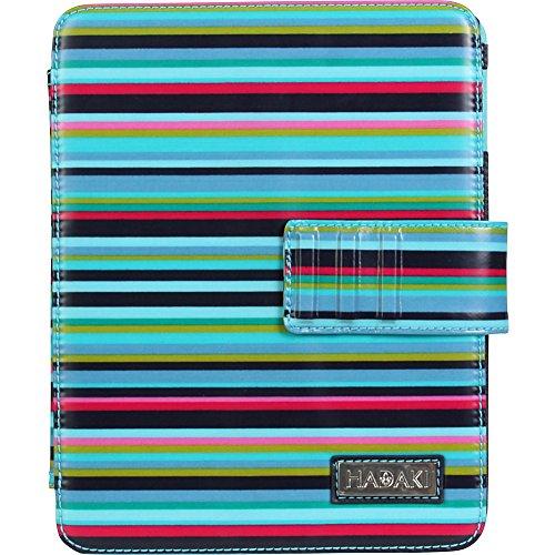 Hadaki Coated Ipad Wrap Notebook Bag,Dixie Stripes,One Size