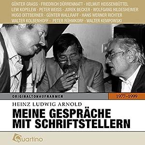 Meine Gespräche mit Schriftstellern 1977-1999 Hörbuch