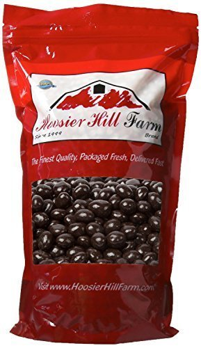 Hoosier Hill Farm Gourmet Dark Chocolate covered Espresso Beans (2 lb Bag)