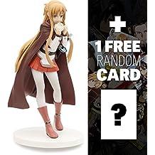 "Asuna (Fencer Version): ~6.2"" JAMMA Prize x Sword Art Online Figure Series + 1 FREE Sword Art Online Trading Card Bundle (94100)"