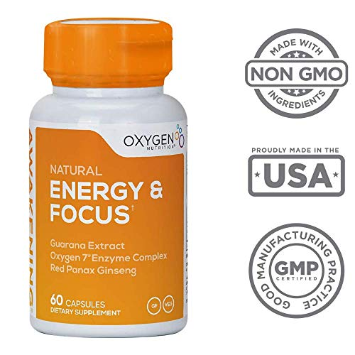 Awakening Formula - Mental Clarity Booster by Oxygen Nutrition | Healthy Energy Supplement to Increase & Boost Focus, Mood, and Overall Well-Being - 1 x 60 Count Pill Bottle (Packaging May Vary) ()