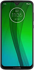 "Motorola Moto G7 (64GB, 4GB RAM) 6.2"" HD+ Display, Dual SIM GSM Unlocked (AT&T/T-Mobile/MetroPCS/Cricket/H2O) - XT1962-6 - International Version (White, 64 GB)"