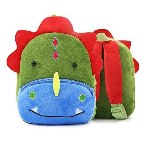 45ca798c9fa9 SUNVP Toddler Kid s School Bag Baby Child 3D Cute Zoo Plush Animal Cartoon  Mini Backpack for
