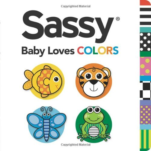 Sassy Baby Books - Baby Loves Colors (Sassy)