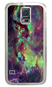 Samsung Galaxy S5 Case and Cover -Seahorse Nebula PC case Cover for Samsung S5 and Samsung Galaxy S5 Transparent