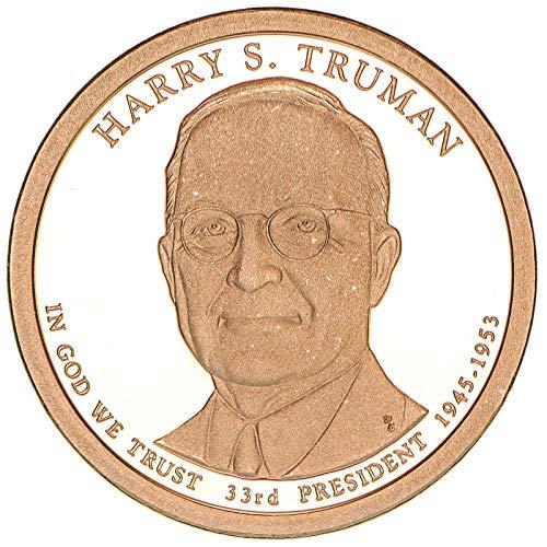 2015 S Presidential Dollar Harry S Truman Gem Deep Cameo Proof (Truman Dollar)