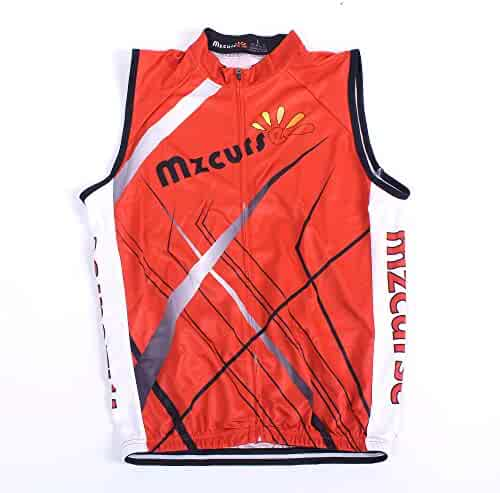 1e3126543a0 mzcurse Men s Sleeveless Wind Vest Cycling Jersey Shirt Bicycle Bike Tees
