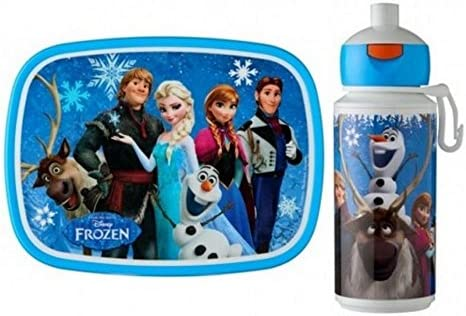 bf9e2470616d Rosti Mepal Kids Childs Lunch Box and Pop Up Drinks Bottle, Disney's ...
