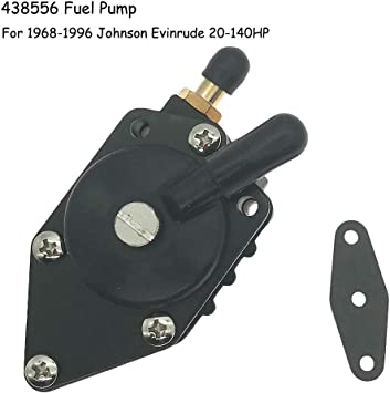 For Evinrude Johnson Outboard Fuel Pump with Gasket 20-140HP 18-7352 438556