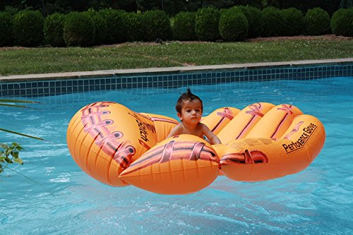 Home Comforts LAMINATED POSTER Pool Inflatable Mattress Summ