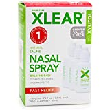 xclear nasal spray - Xlear Saline Nasal Spray with Xylitol - 0.75 oz - 3 ct
