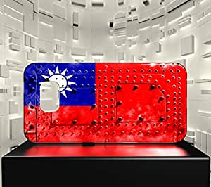 Funda Carcasa para Galaxy S6 Bandera TAIWÁN 06