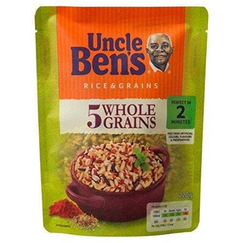 (Uncle Bens Five Wholegrains Rice - 220g (0.49lbs))
