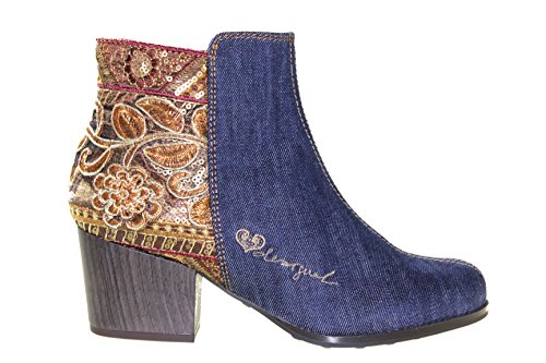 Desigual Women's Shoes_cris Exotic Denim Classic Boot UVj1qE3C1