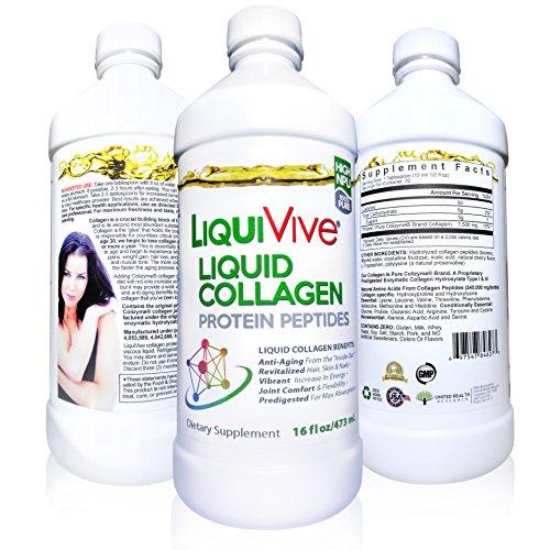 Liquid collagen protein