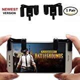 Cheap Mobile Game Controller,Musou Sensitive Shoot and Aim Keys L1R1 Shooter Controller for Fortnite/Rules of Survival,PUBG Mobile Game Joystick Cell Phone Game Controller for Android IOS1 Pair