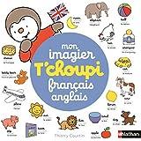 Mon imagier T'choupi français anglais