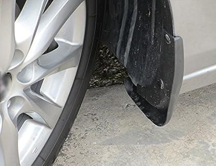 HIGH Flying 4pcs Front/&Rear Mud Splash Flaps Guards Mudguard for Mazda 3 M3 Axela Hatchback 2014 2015 2016 2017