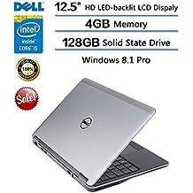 Dell Latitude 12.5-Inch E7240 Ultrabook (Intel Core i5-4210U Processor (up to 2.70 GHz), 4GB RAM, 128GB SSD, Windows 8.1 Pro)