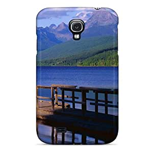 Defender Case With Nice Appearance (blue River Mountain) For Galaxy S4