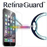 RetinaGuard Anti-blue Light Tempered Glass Screen protector for iPhone 6S Plus / 6 Plus - SGS & Intertek Tested - Blocks Excessive Harmful Blue Light, Reduce Eye Fatigue and Eye Strain