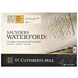 High White Saunders Waterford Block 300gsm 310 x
