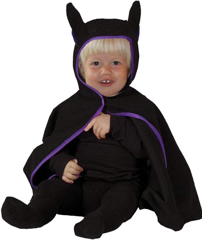 FOXXEO Disfraz de murciélago Negro para niños bebés Disfraz de ...